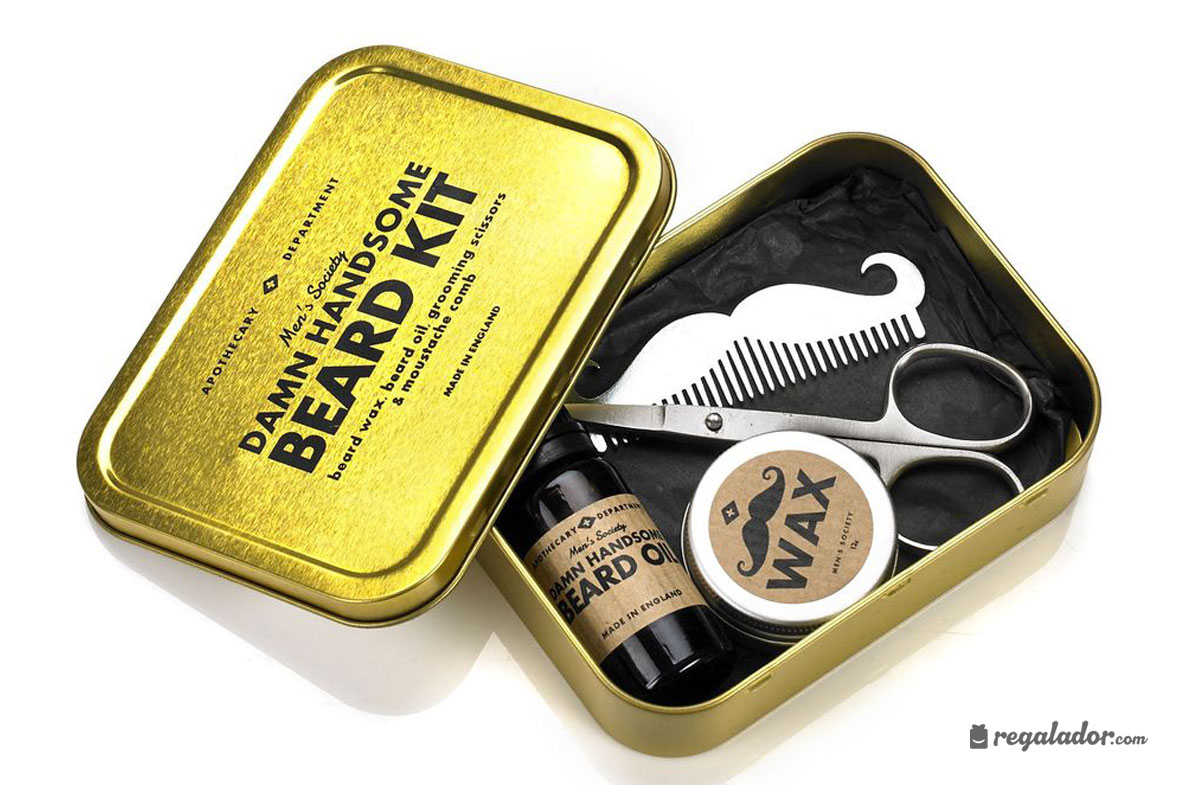 Kit de viaje para el cuidado de la barba en Regalador.com