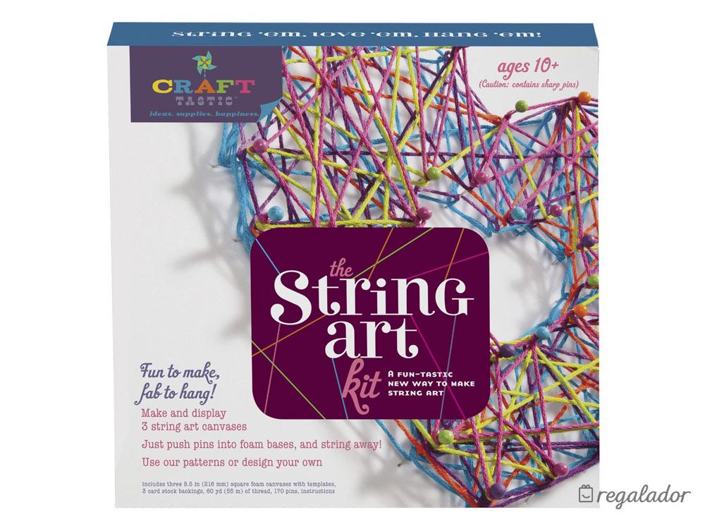 String art: Kit para crear cuadros con hilos