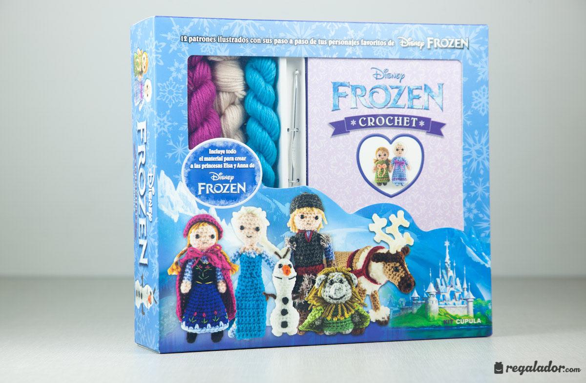 Kit Frozen para hacer crochet en Regalador.com