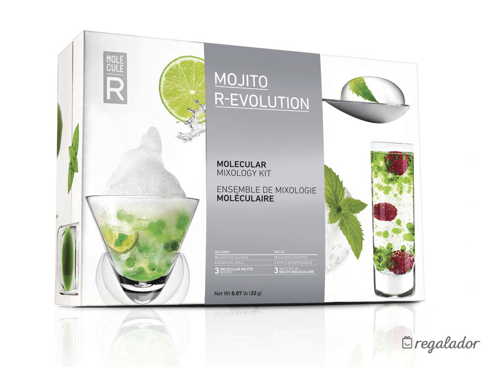 Mojito R-Evolution: kit de coctelería molecular
