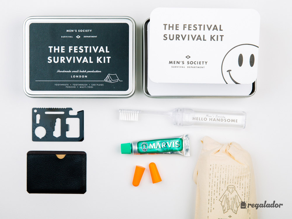 El kit de supervivencia para festivales