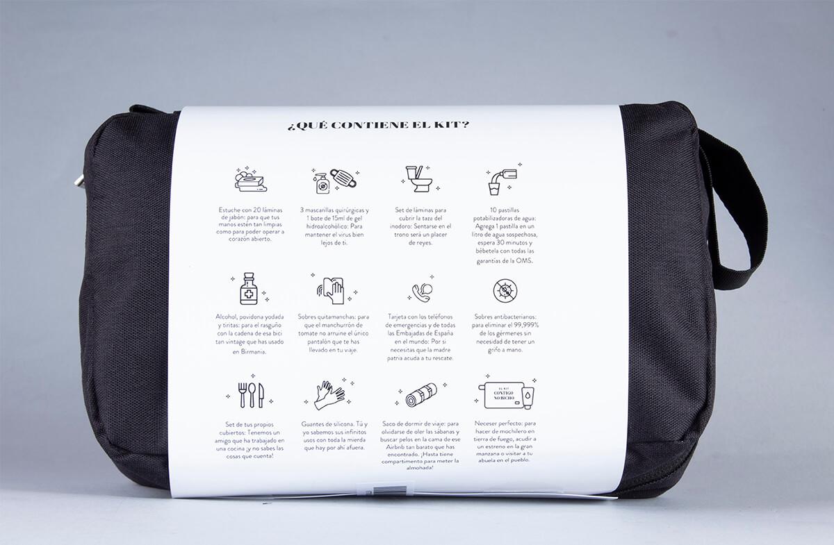 Kit para viajeros en tiempos de COVID