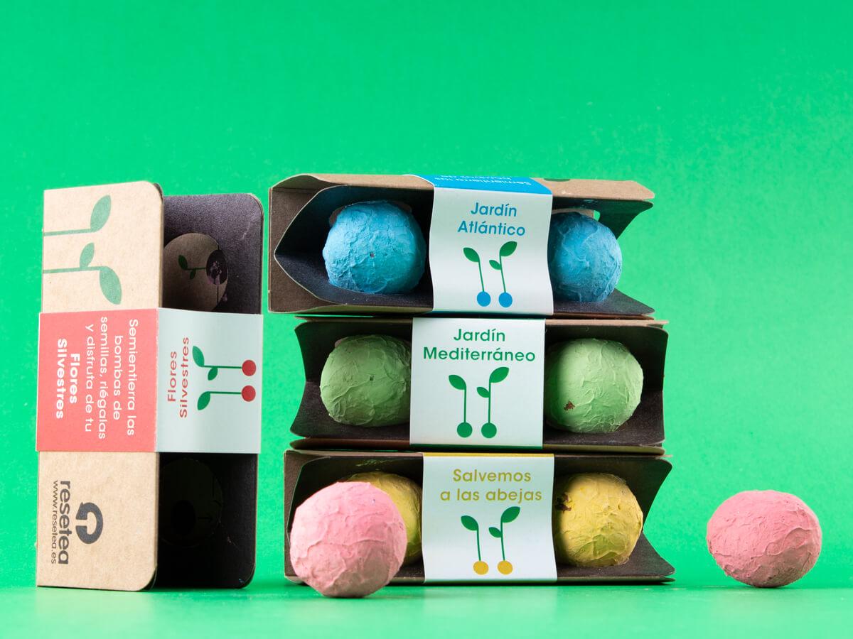 Kit de bombas de color de semilllas