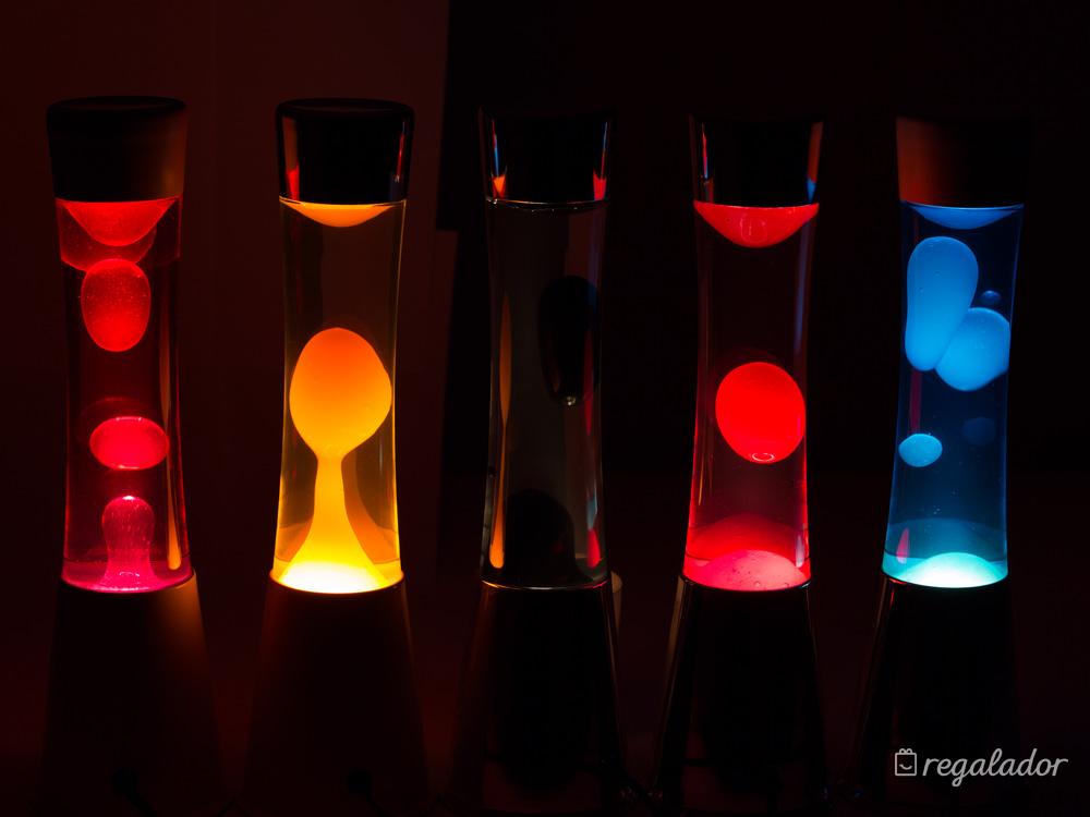 La clásica lámpara de lava con estilo renovado