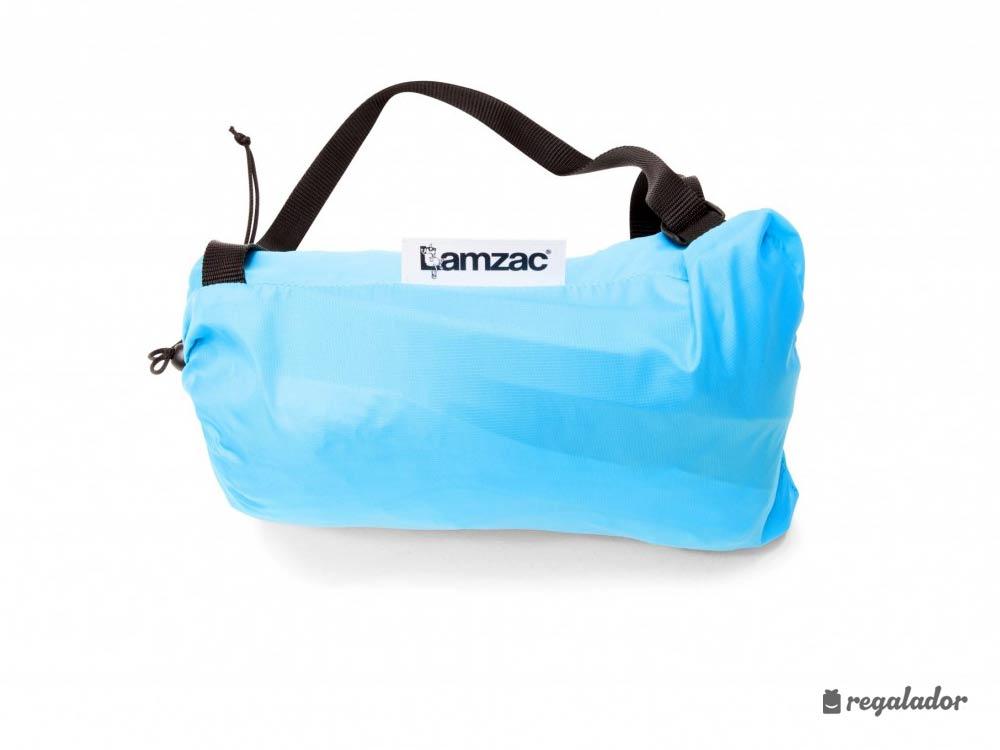 LAMZAC: el sillón hinchable y portátil más original