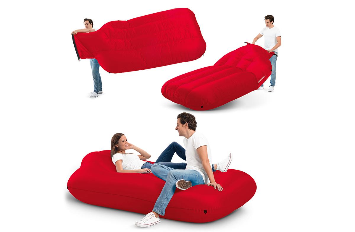 Lamzac XXXL: el sillón hinchable y portátil más original para dos