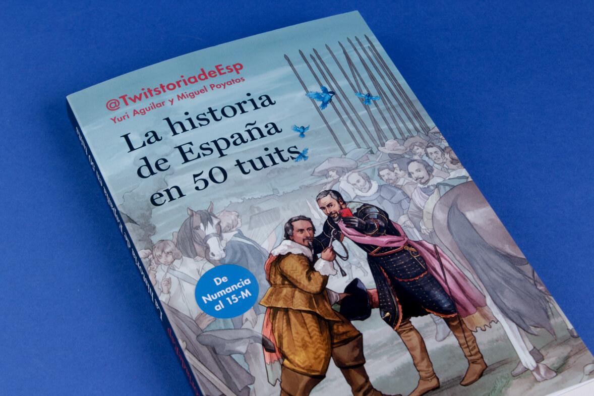 Libro «La historia de España en 50 tuits»