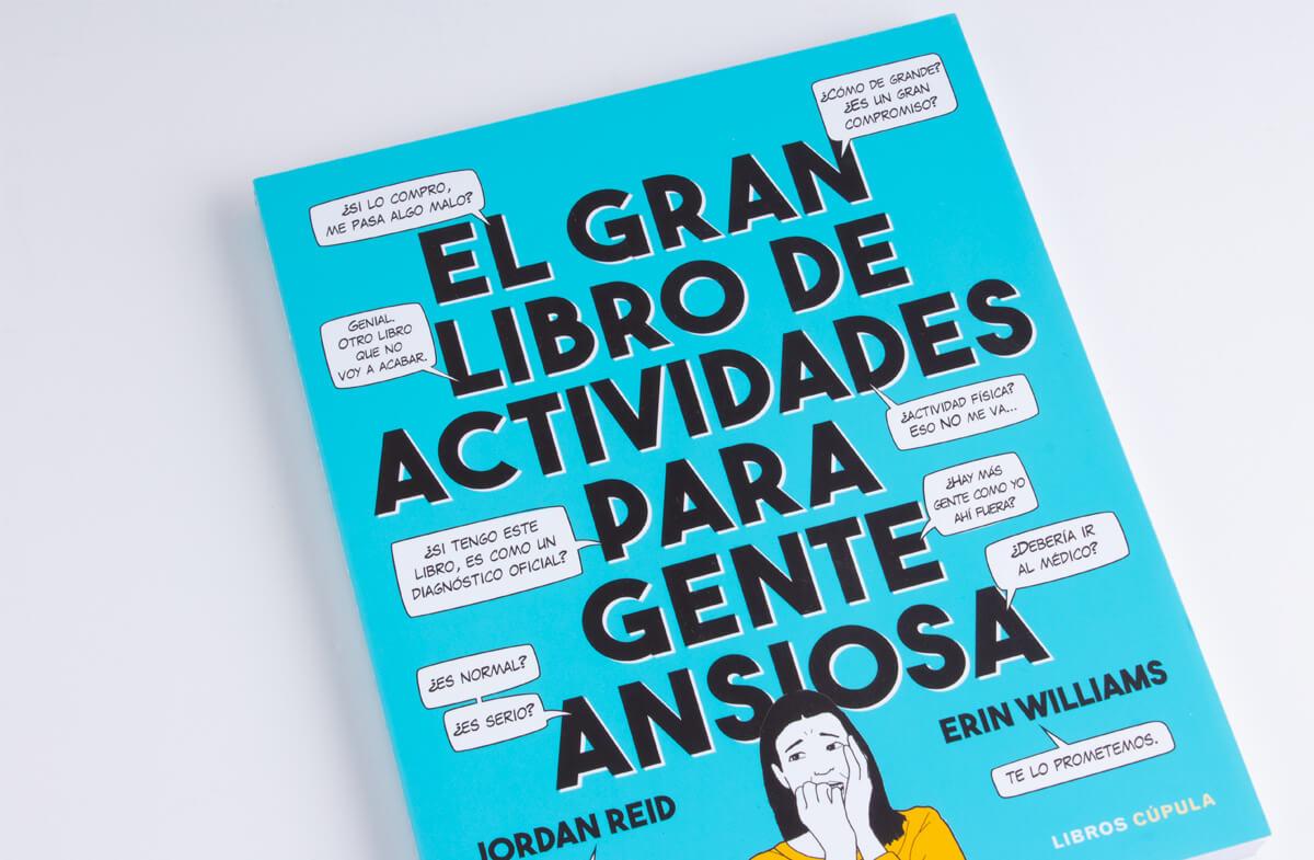«El gran libro de actividades para gente ansiosa»
