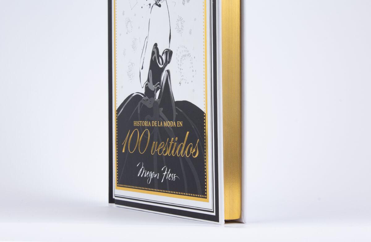 Libro Historia de la moda en 100 vestidos