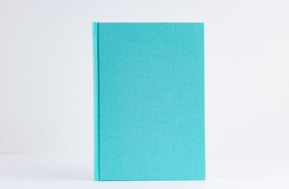 Libreta de notas A5, personalizable, cubierta de lino