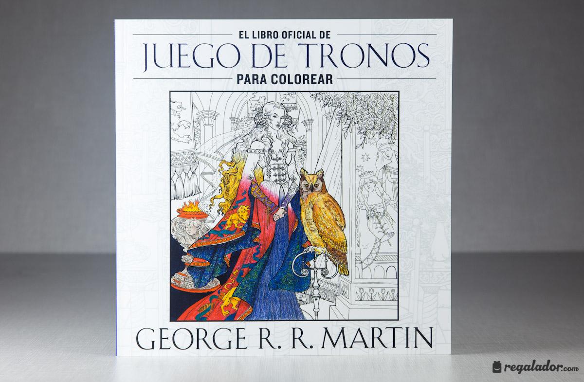 El libro para colorear para fans de Juego de Tronos en Regalador.com