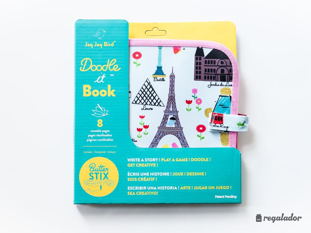 Libro-pizarra para pequeños artistas