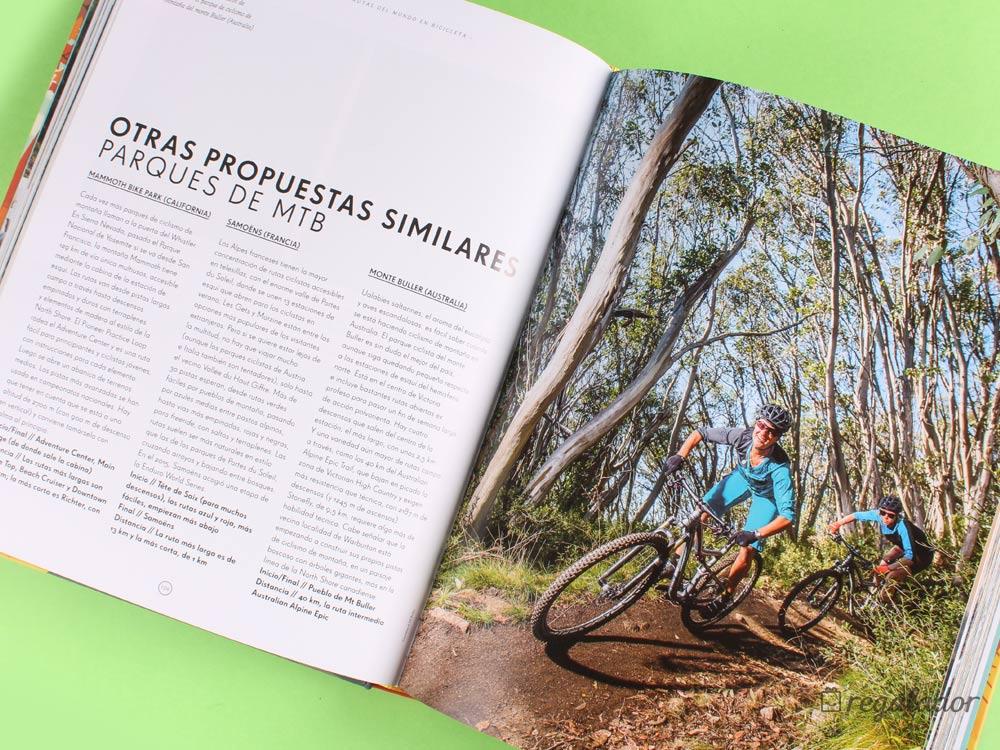 Libro: Las mejores rutas del mundo en bicicleta