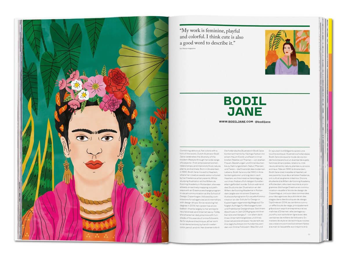 The Illustrator, 100 mejores ilustradores del mundo