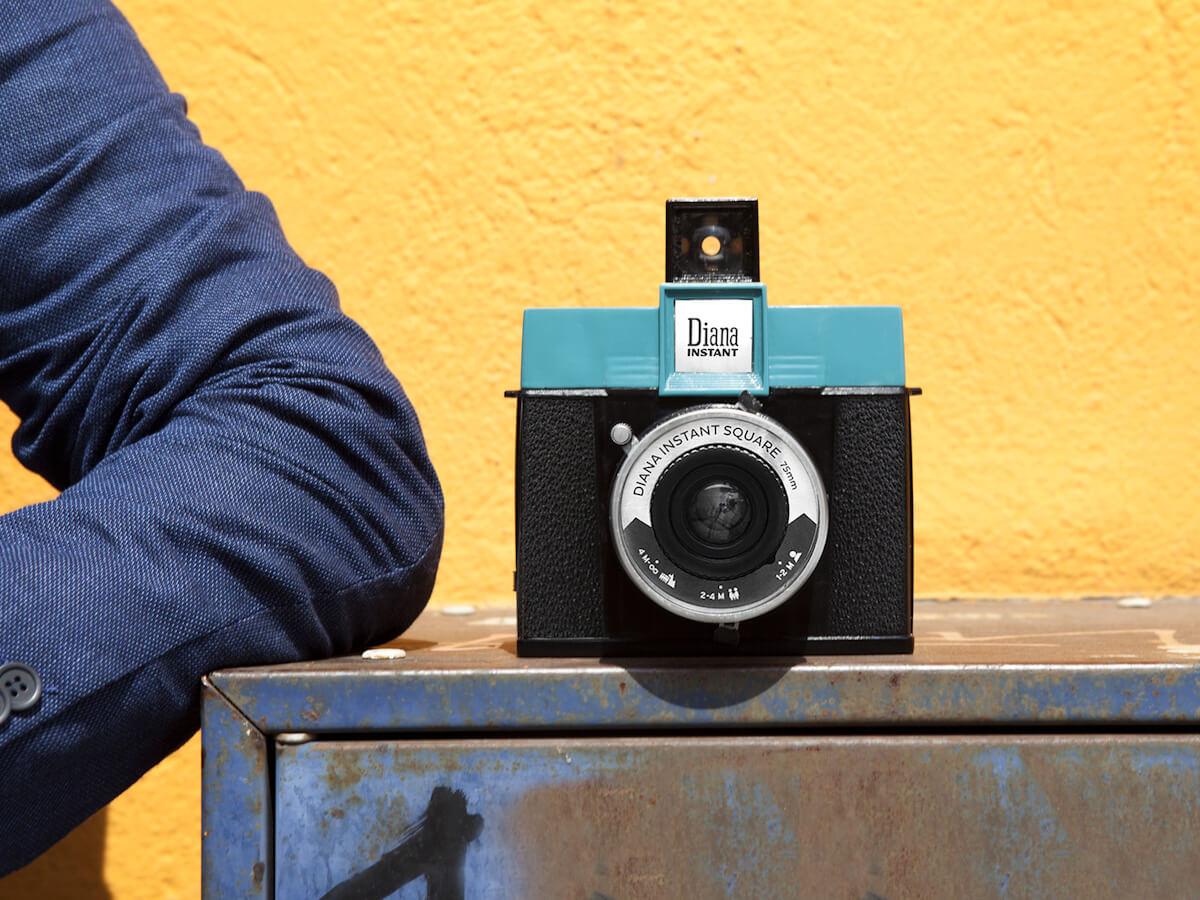 Cámara de fotos Diana F de Lomography