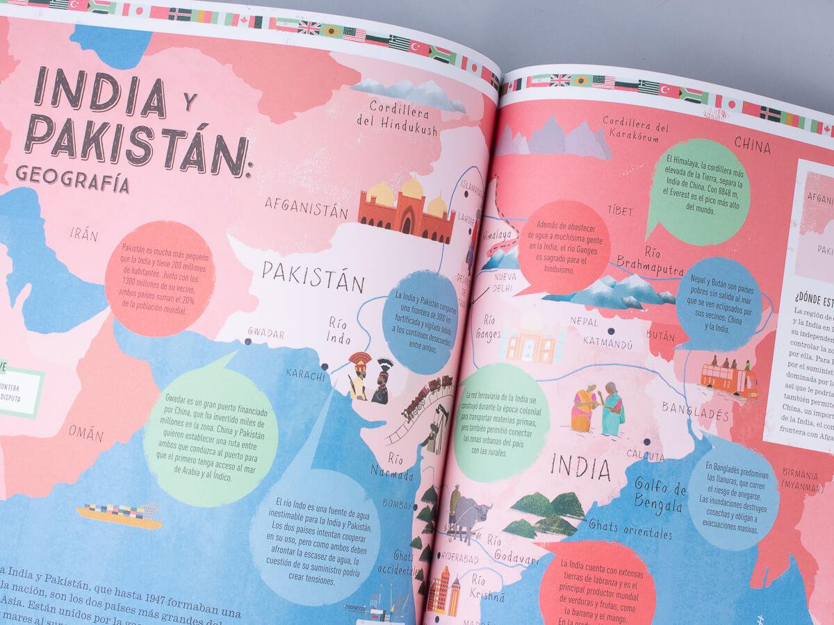 «Prisioneros de la geografía», el mundo en 12 mapas