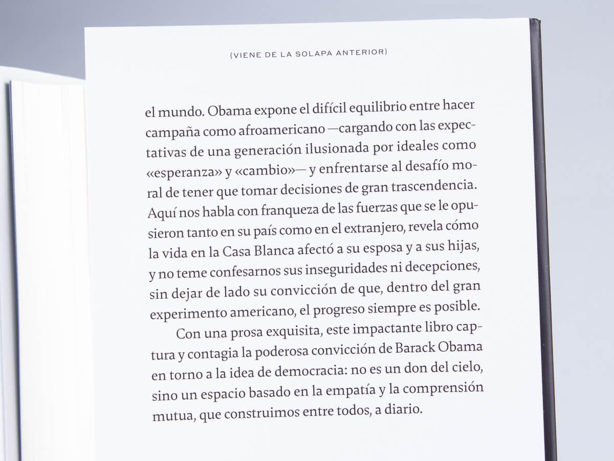 Autobiografía de Barack Obama «Una tierra prometida»