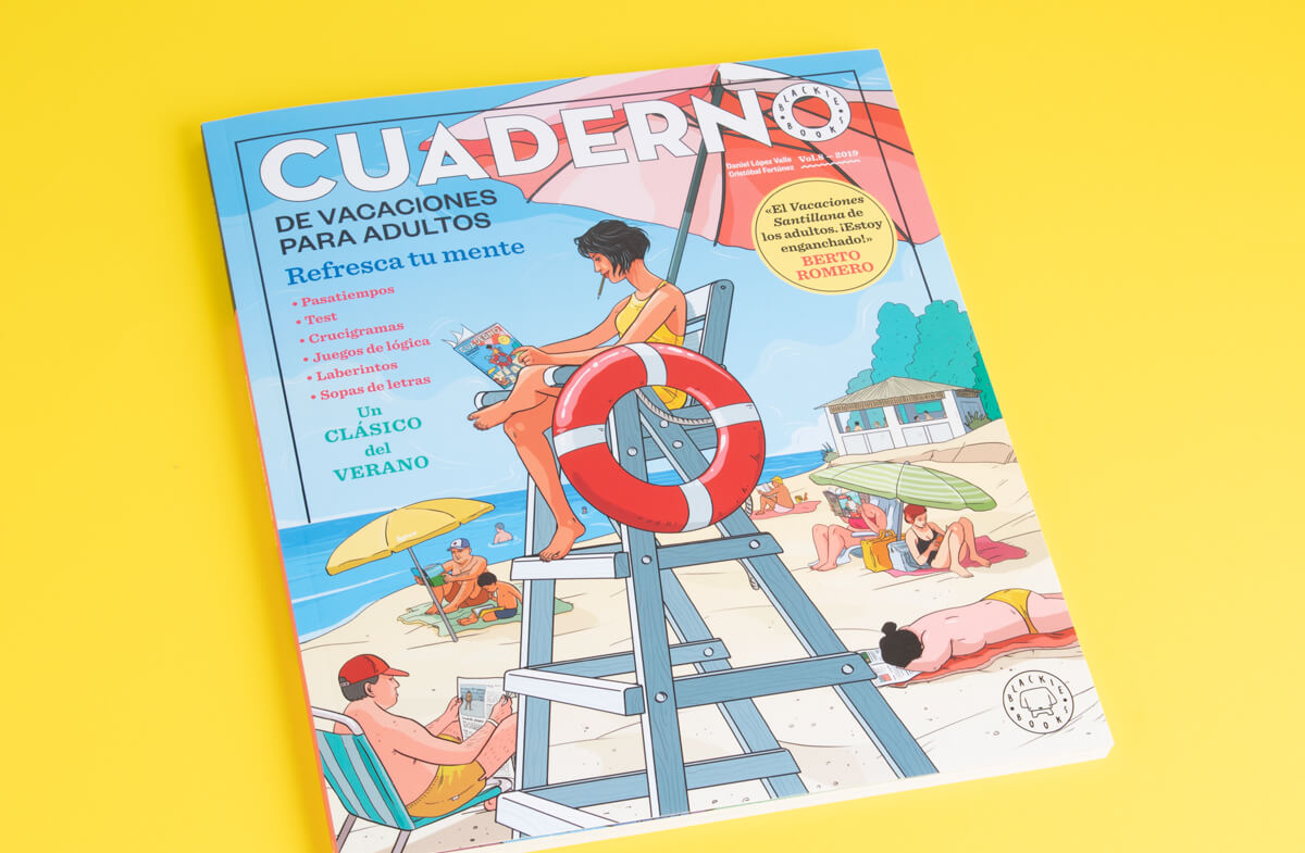 Cuaderno de vacaciones para adultos