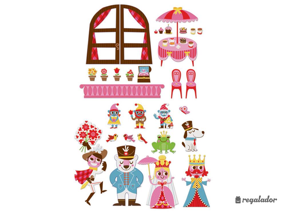 Murales imantados de princesas en Regalador.com