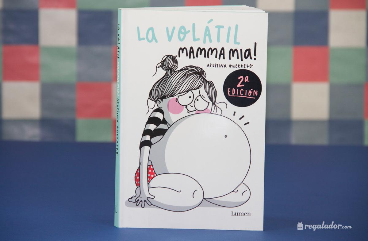 """""""La Volátil Mamma mia"""": el cómic para reirse durante el embarazo. """""""
