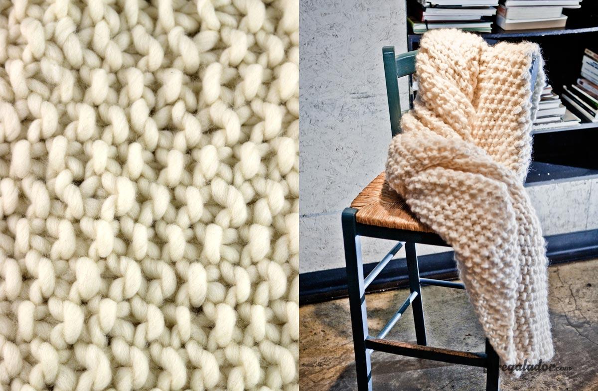 """Kit """"We are knitters"""" para tejer tu propia manta de lana en ..."""