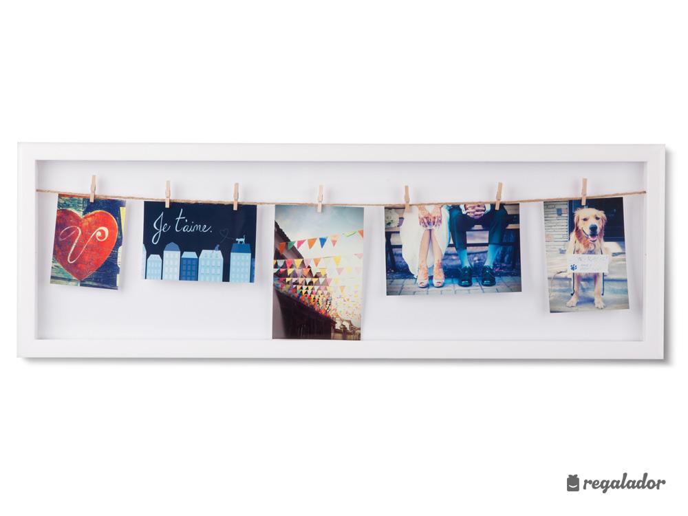 Marco vertical para colgar fotos en Regalador.com