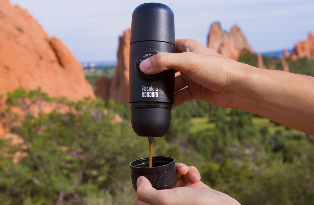 Máquina de café portátil Minipresso NS