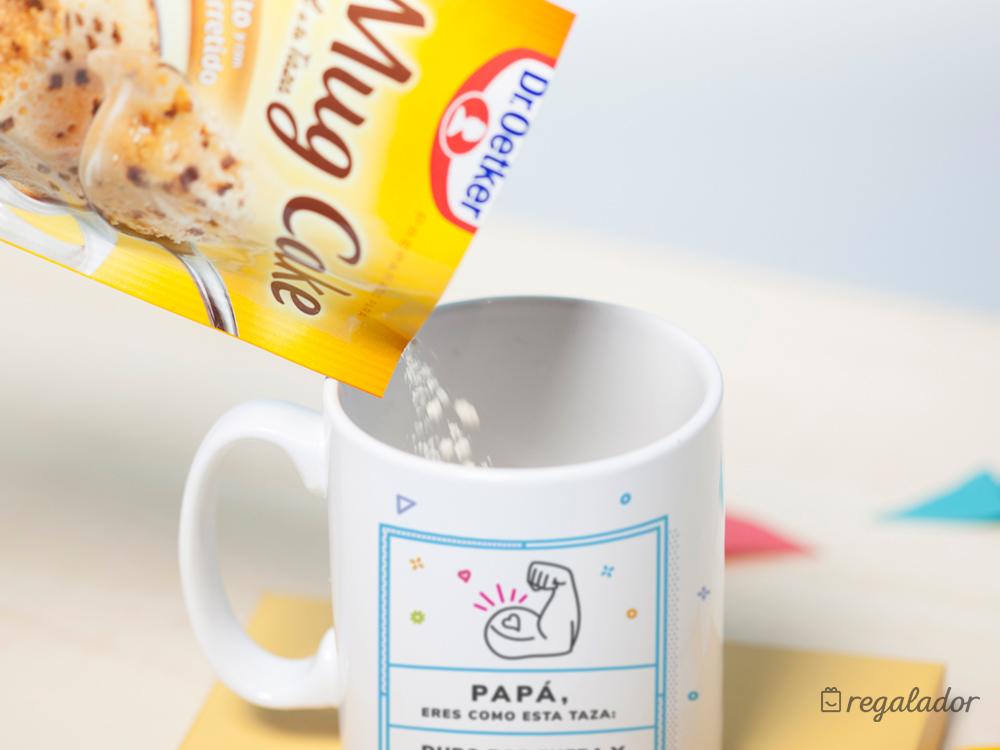 Kit de taza y mug cake para padres golosos
