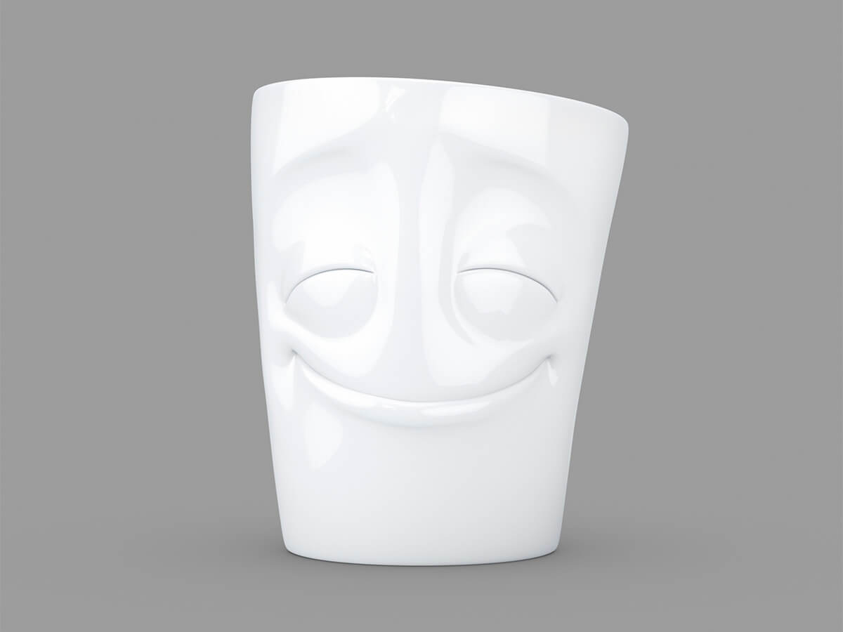 Las tazas con caras, ¿cómo te sientes hoy?