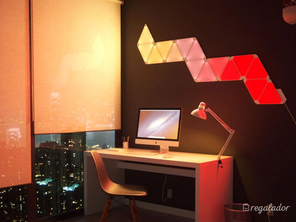 Nanoleaf Aurora: la forma más moderna de iluminar tu hogar