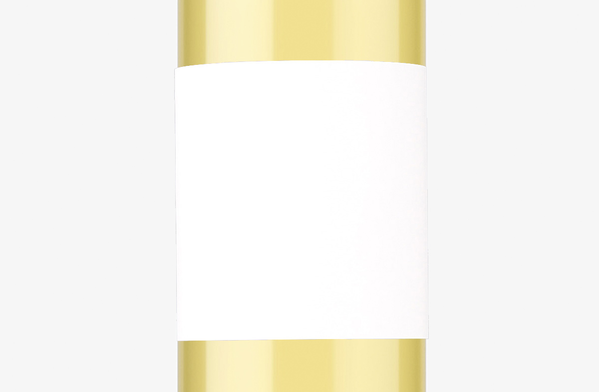 Vino blanco personalizado modelo beauty