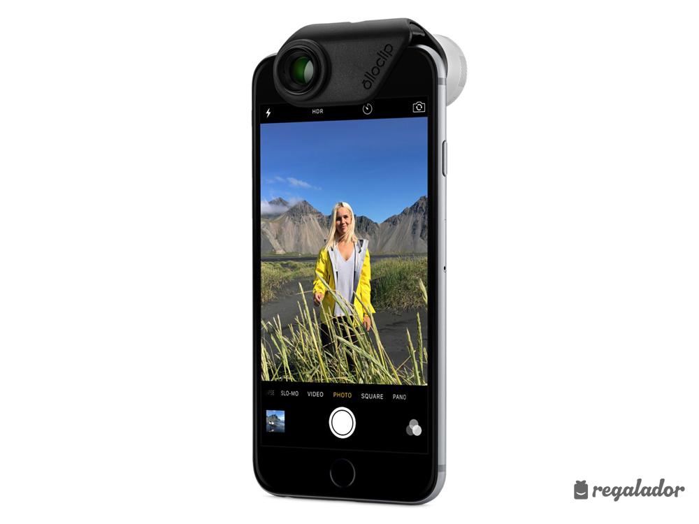 'Olloclip': 4 objetivos en 1 para el iPhone