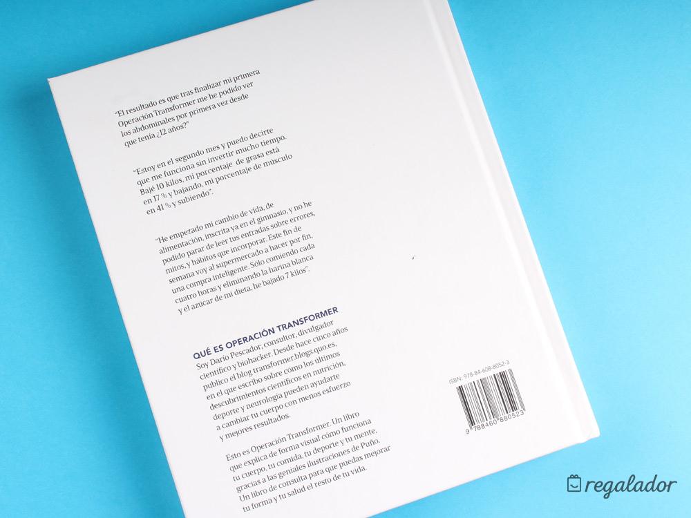 """Plan para estar en forma: El libro de """"Operación Transformer"""""""