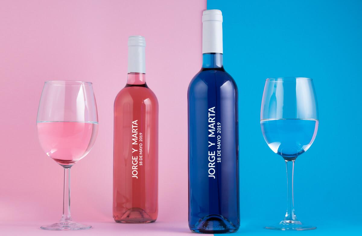Pareja Perfecta De La Vinos Personalizados TJlFc13K