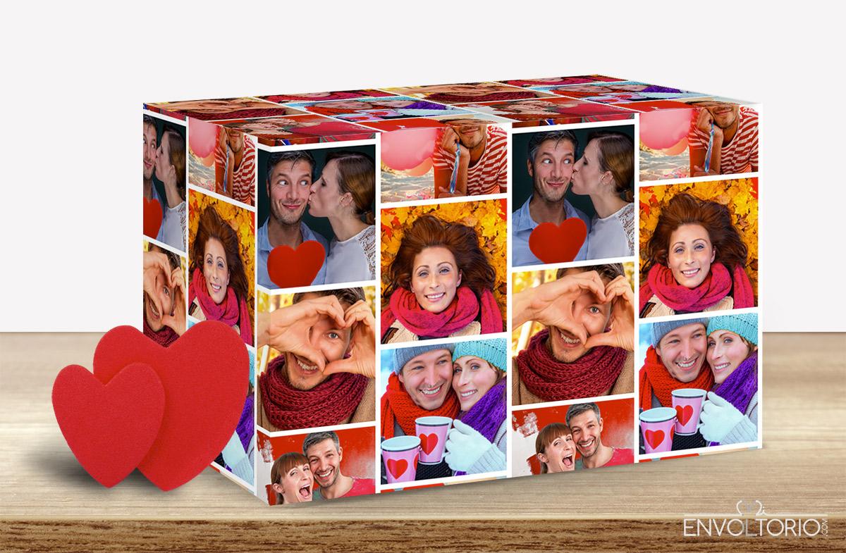 Papel de regalo personalizado para recién casados en Regalador.com