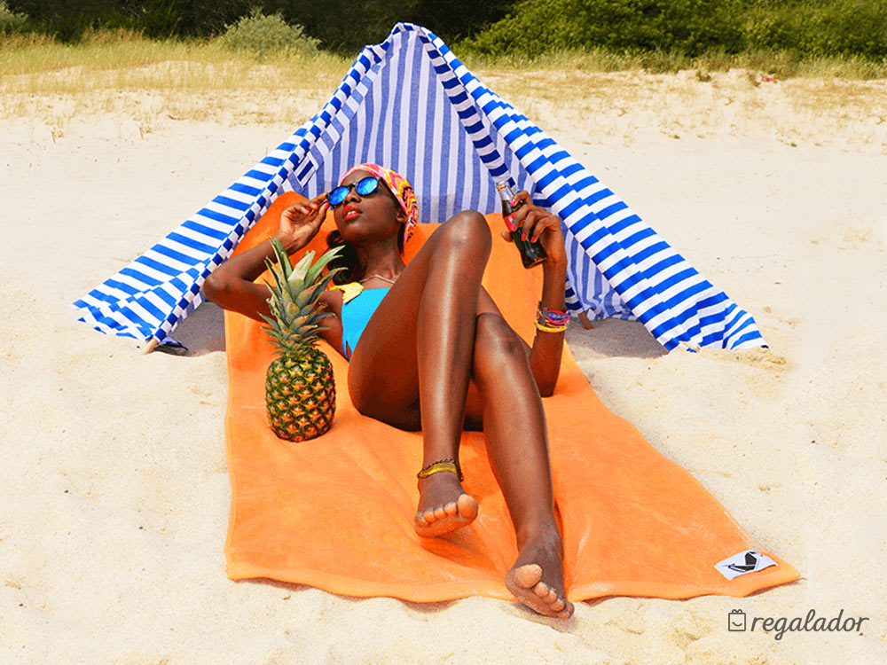 Paraviento de playa 2 en 1 de Origama