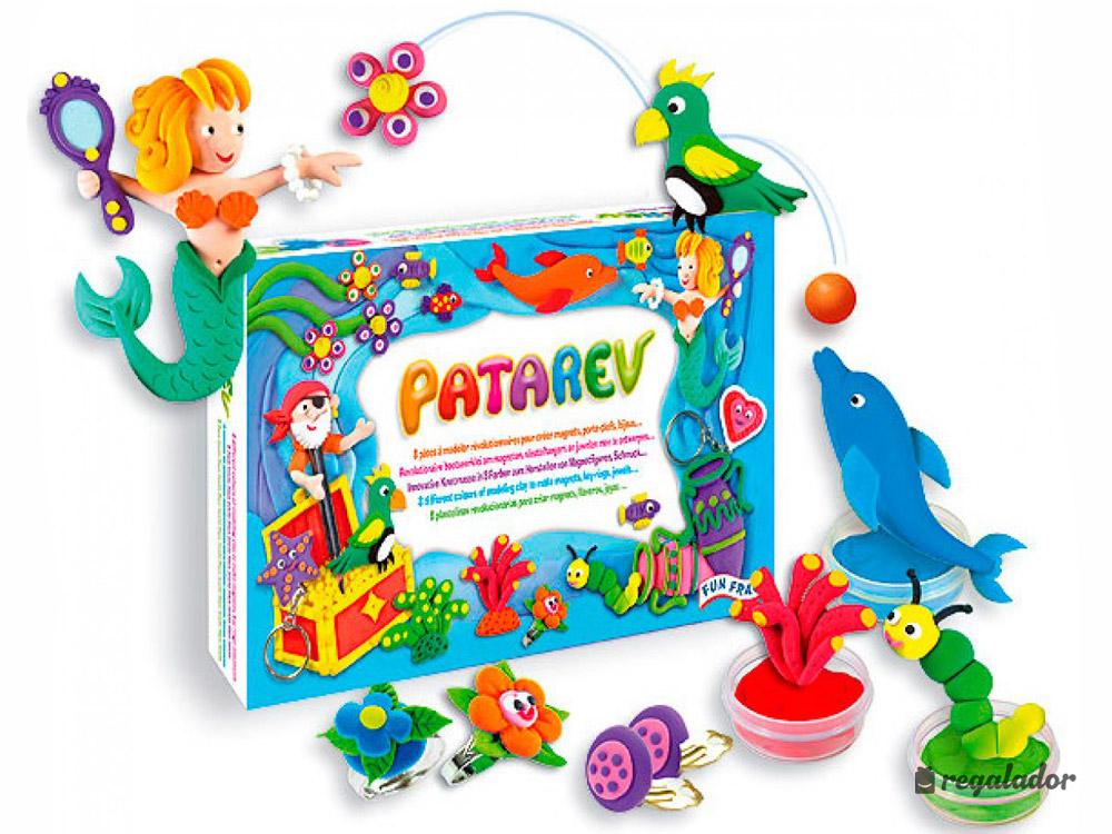 Patarev: la plastilina que no mancha ni se rompe