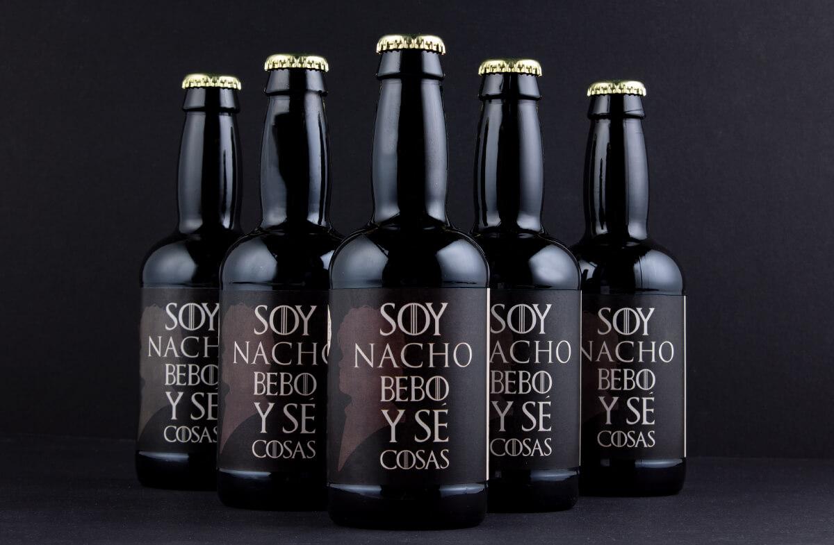 Pack de cervezas personalizadas Juego de Tronos