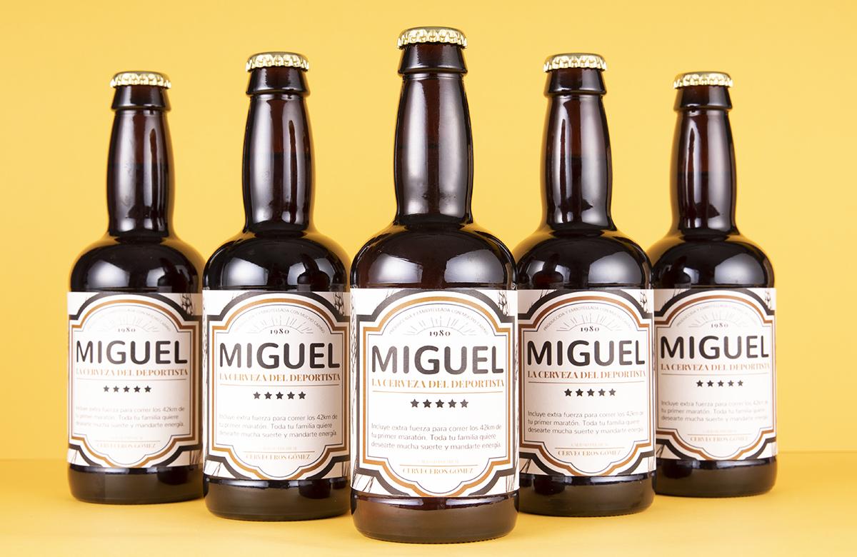 Pack de cerveza personalizada. Modelo Clásico