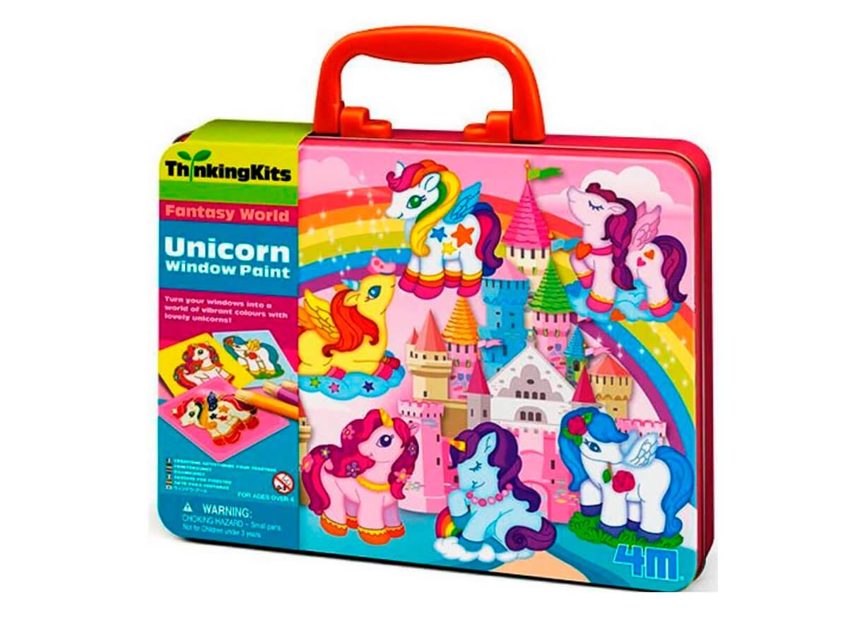 Set de arte para crea tus pegatinas de unicornios