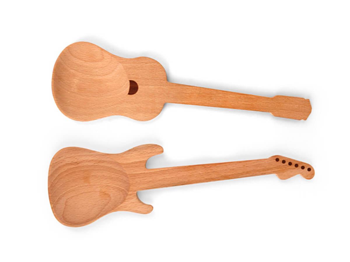 Las cucharas de madera más rockeras
