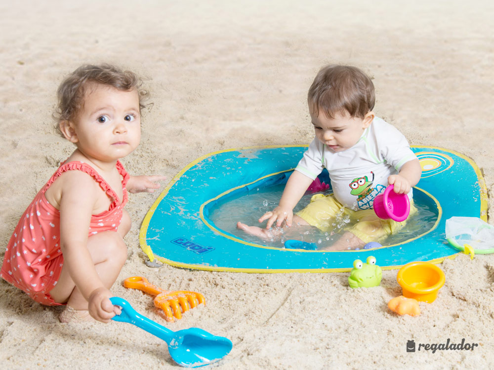 piscina de playa pop up para beb s en