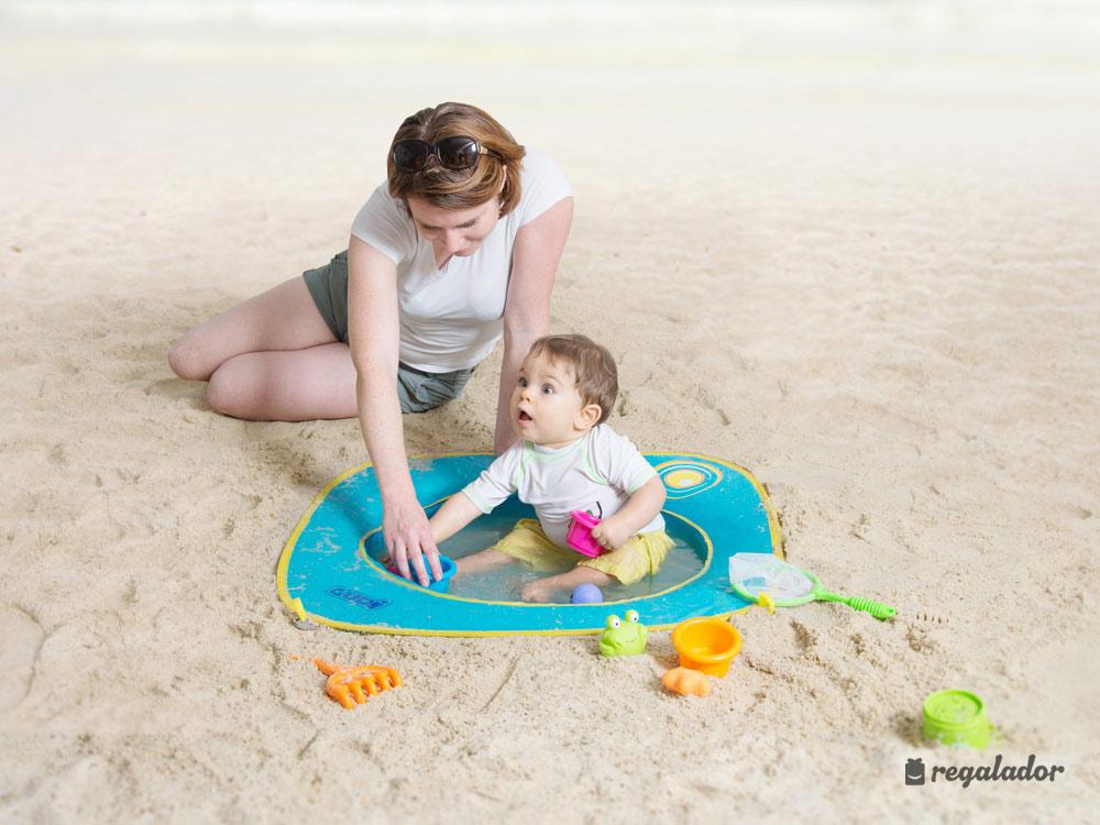 Piscina de playa pop up para beb s en for Banadores para bebes piscina