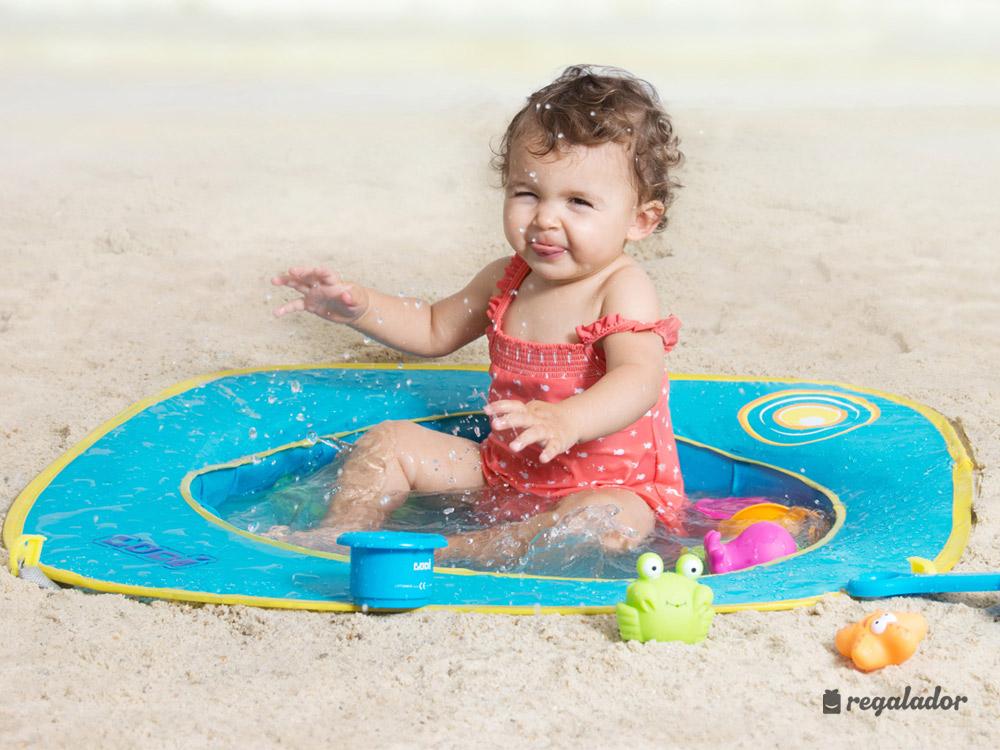 Piscina de playa pop up para beb s en for Piscinas bebes