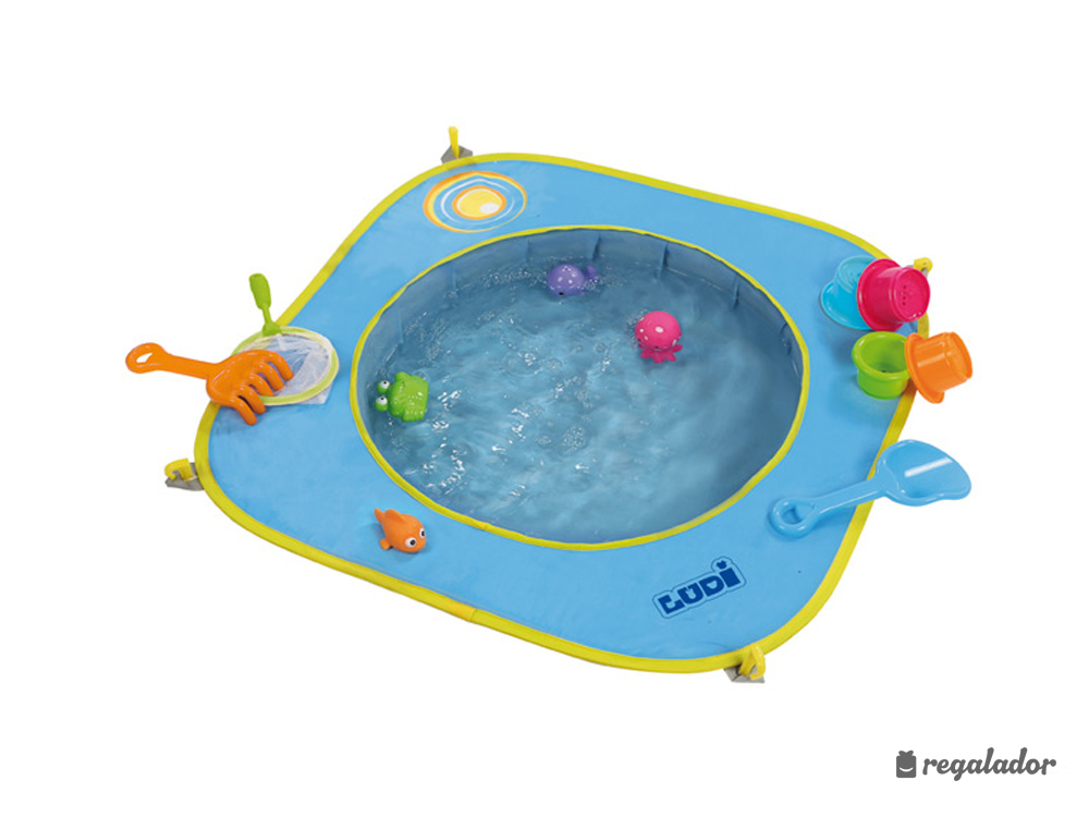 Piscina de playa pop up para beb s en for Toallas piscina