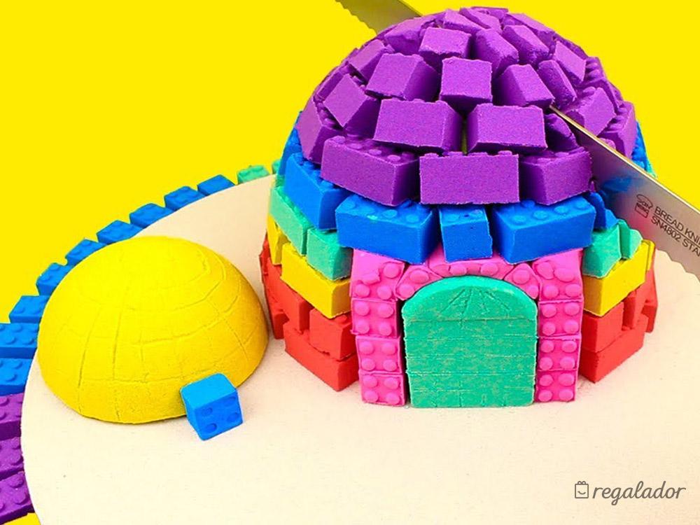 Mad matt r la plastilina arena m gica de colores en - Arena de colores ...