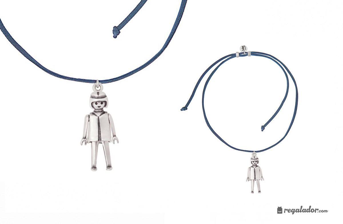 Collares con colgante Playmobil