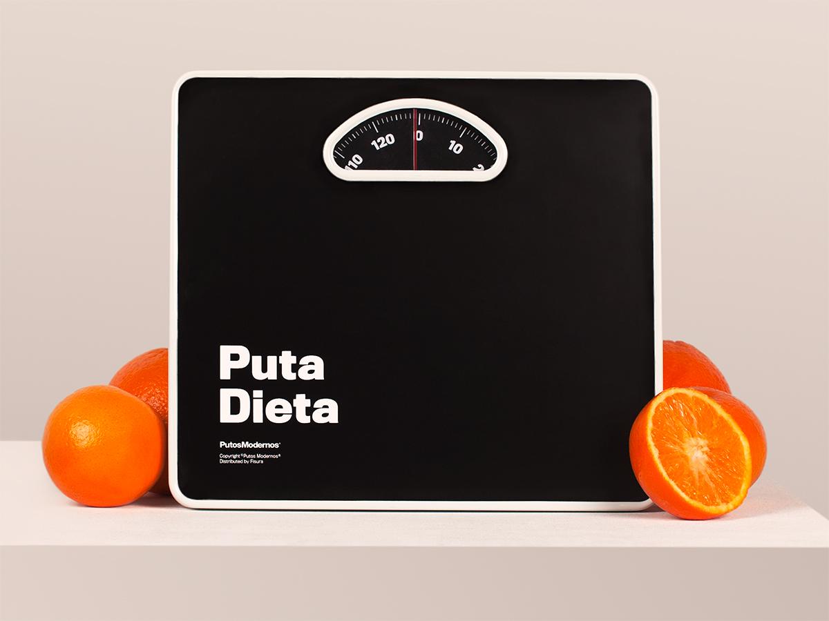 La báscula de la «puta dieta»