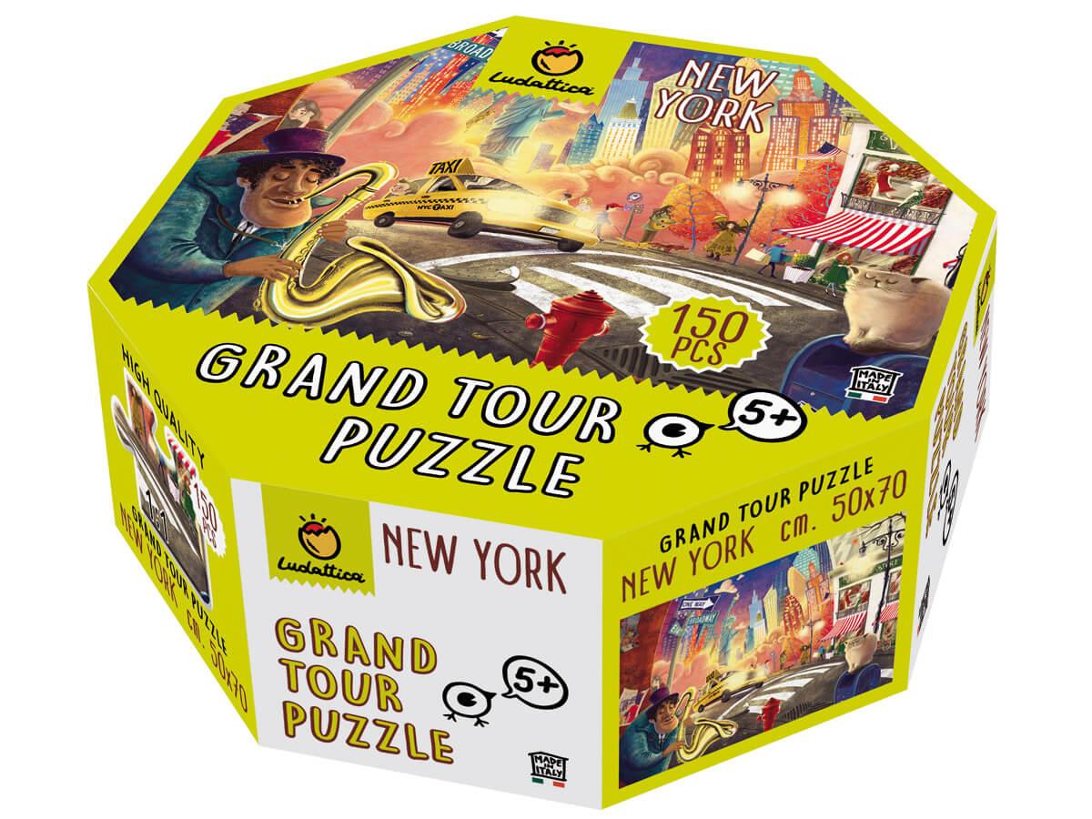 Super puzzles para conocer las grandes ciudades