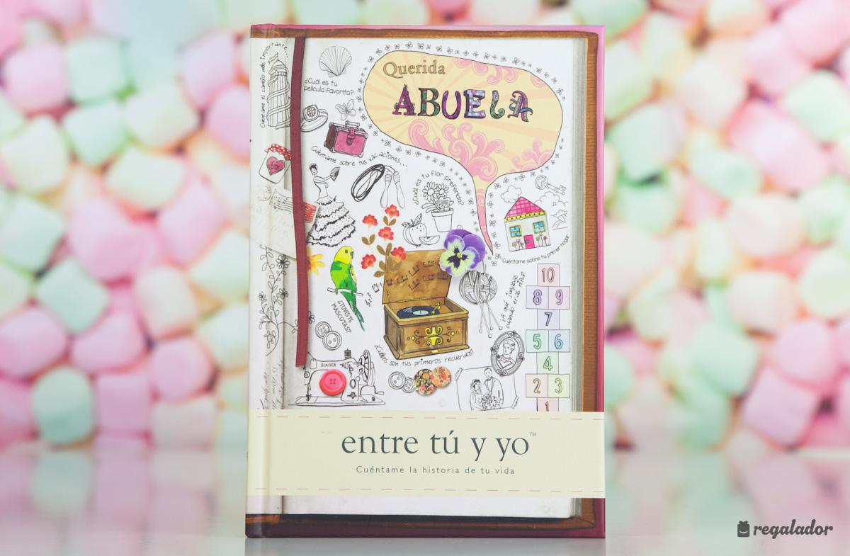 El libro personalizable para abuelas y nietos en for Regalos abuela ideas